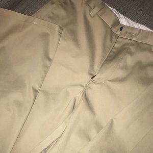 Men's khaki Haggar slacks size 34x30